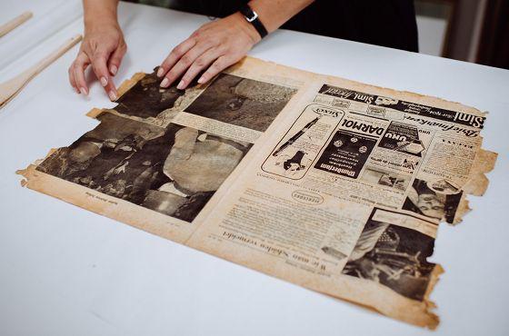 Konserwacja gazety