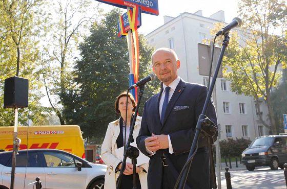 Ulica Dow Bera Meiselsa fot. Grzegorz Kwolek (ŻIH) (9).jpg